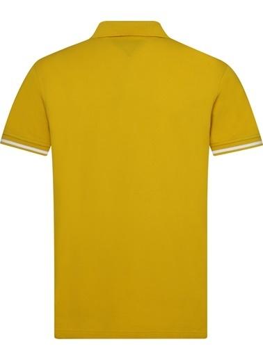 Tommy Hilfiger Erkek Basıc Tıpped Regular P Tişört MW0MW10768 Renkli